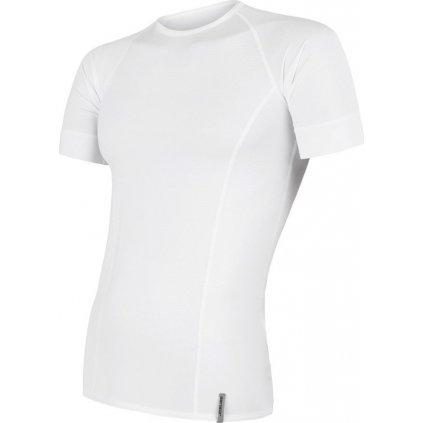 Pánské funkční tričko SENSOR Coolmax tech bílá