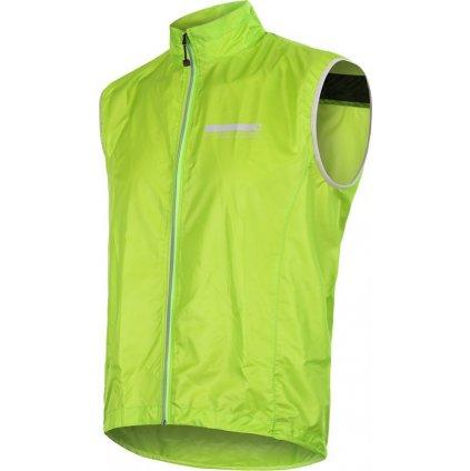 SENSOR PARACHUTE pánská vesta zelená