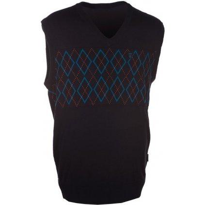 Pánská pletená vesta KILPI Dioritte iv. modrá