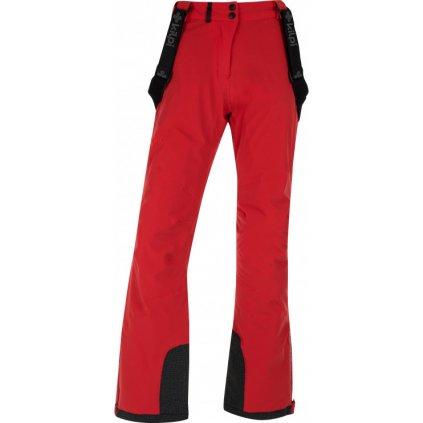 Dámské lyžařské kalhoty KILPI Europa-w červená