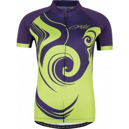 Dámský cyklo dres KILPI Foxiera-w fialová