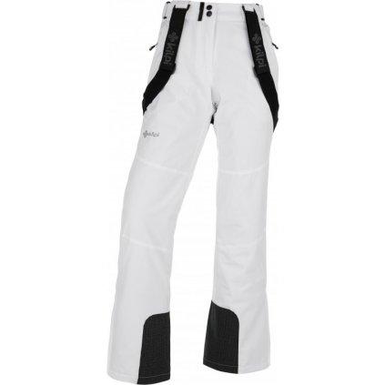 Dámské lyžařské kalhoty KILPI Elare-w bílá