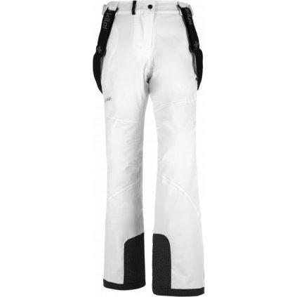 Dámské lyžařské kalhoty KILPI Europa-w bílá