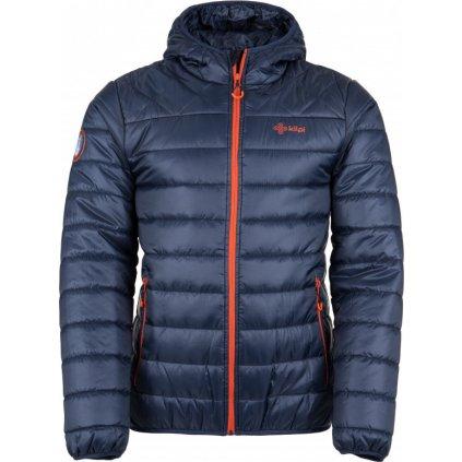 Pánská zimní bunda KILPI Fitzroy-m tmavě modrá