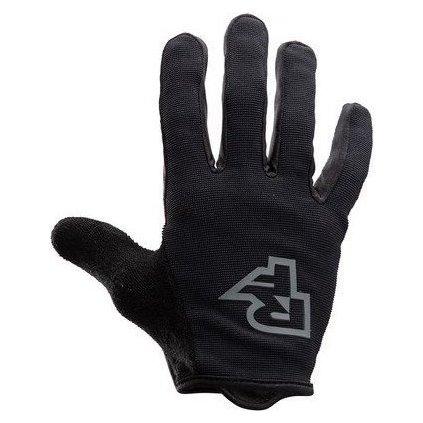 Cyklistické rukavice RACE FACE Trigger černá