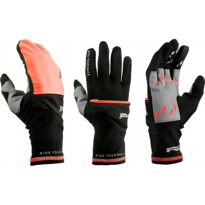 Zateplené rukavice R2 Cover černá
