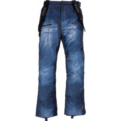 Pánské snowboardové kalhoty KILPI Jeanster-m modrá
