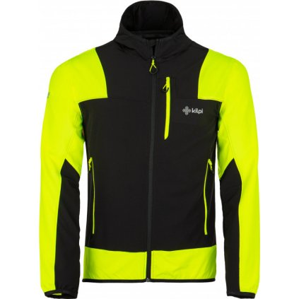 Pánská outdoorová bunda KILPI Joshua-m žlutá