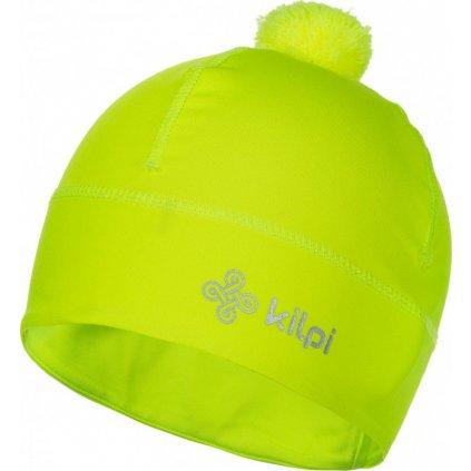 Funkční čepice KILPI Hogard-u žlutá