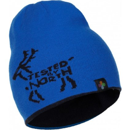 Chlapecká oboustranná čepice KILPI Hamer-j tmavě modrá