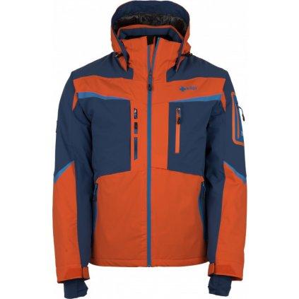 Pánská lyžařská bunda KILPI Io-m oranžová