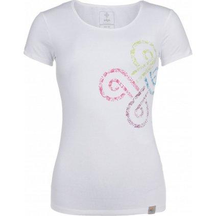 Dámské bavlněné tričko KILPI Ka-w bílá