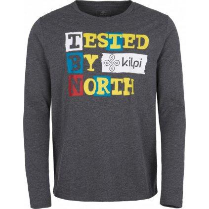 Pánské bavlněné tričko KILPI Tested-m melange