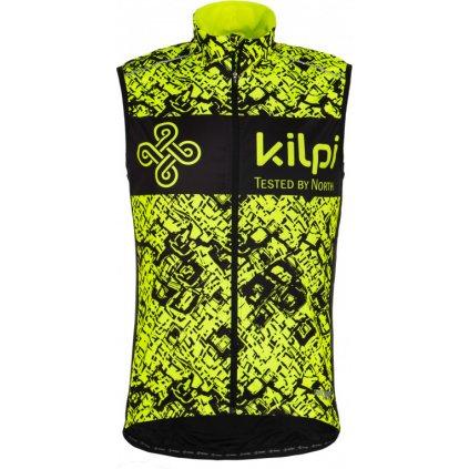 Pánská vesta KILPI Veles-m žlutá