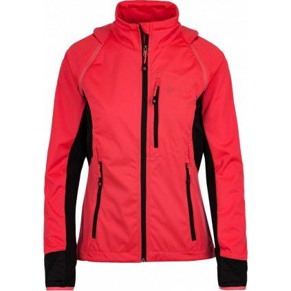 Dámská softshellová bunda/vesta KILPI Transformer-w růžová