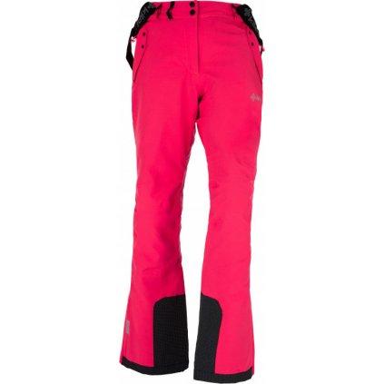 Dámské lyžařské kalhoty KILPI Tristana-w růžová