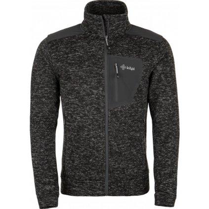 Pánský fleecový svetr KILPI Tongariro-m černá