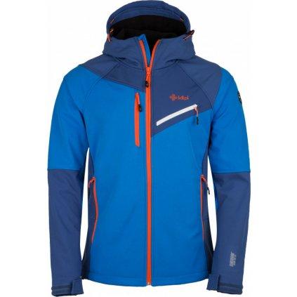 Pánská zimní softshellová bunda KILPI Zenith-m modrá
