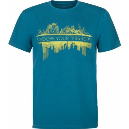 Pánské bavlněné tričko KILPI Territory-m tmavě modrá
