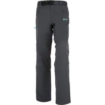 Dámské outdoorové kalhoty KILPI Susanna-w tmavě šedá
