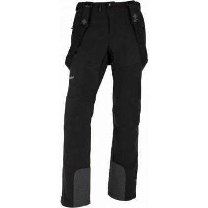 Pánské lyžařské softshellové kalhoty KILPI Rhea-m černá