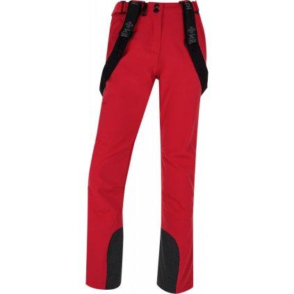Dámské lyžařské softshellové kalhoty KILPI Rhea-w červená