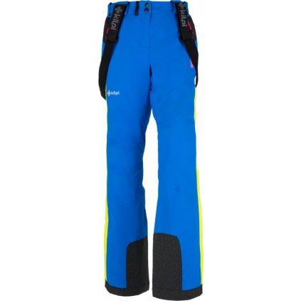 Dámské lyžařské kalhoty KILPI Team pants x-w modrá
