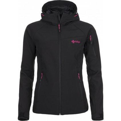 Dámská lyžařská softshellová bunda KILPI Safira černá