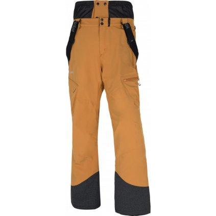 Pánské zimní lyžařské kalhoty KILPI Ter-m oranžová