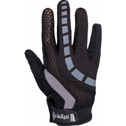 Cyklistické rukavice KILPI Redbud-u šedá