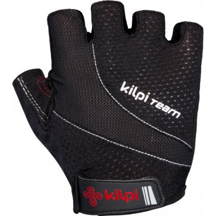 Cyklistické rukavice KILPI Myrtles-u černá