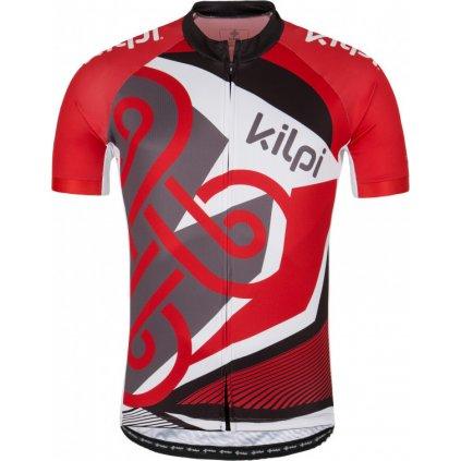 Pánský cyklo dres KILPI Rifto-m červená