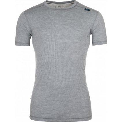 Pánské merino tričko KILPI Merin-m tmavě šedá