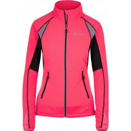 Dámská softshellová bundaKILPI Nordim-w růžová
