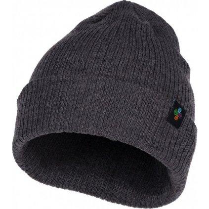 Zimní čepice KILPI Linus-m tmavě šedá