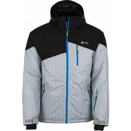 Pánská lyžařská bunda KILPI Oliver-m šedá