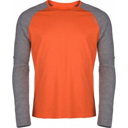 Pánské bavlněné tričko KILPI Longo-m oranžová