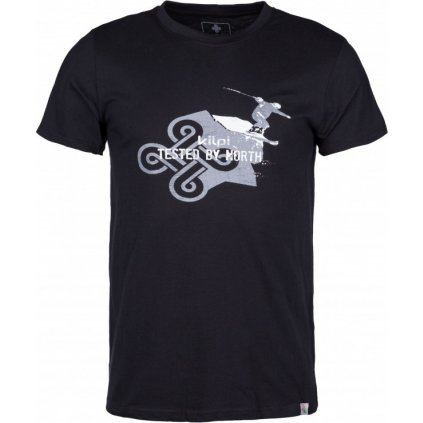 Pánské bavlněné tričko KILPI Maniac-m černá