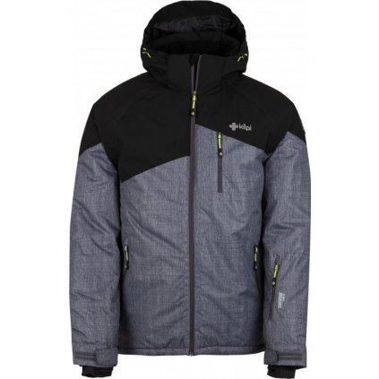 Pánská lyžařská bunda KILPI Oliver-m tmavě šedá
