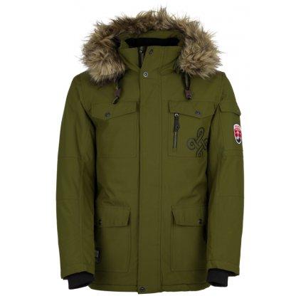 Pánská zimní bunda KILPI Pilot-m khaki