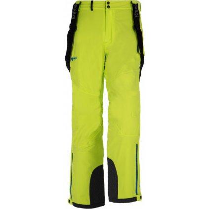 Pánské lyžařské kalhoty KILPI Methone-m světle zelená