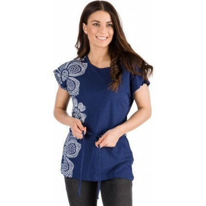 Dámské triko SAM 73 s krátkým rukávem modrá
