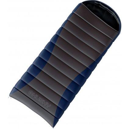 Péřový spacák HUSKY Drafy -20°C modrá