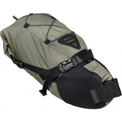 Rolovací brašna na sedlovku TOPEAK Bikepacking Backloader, 10l zelená
