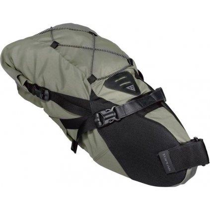 Rolovací brašna na sedlovku TOPEAK Bikepacking Backloader, 15l zelená
