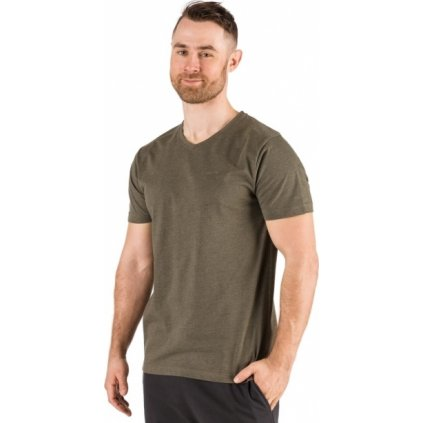 Pánské triko SAM 73 s krátkým rukávem hnědá