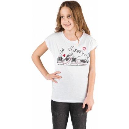 Dívčí triko SAM 73 s krátkým rukávem