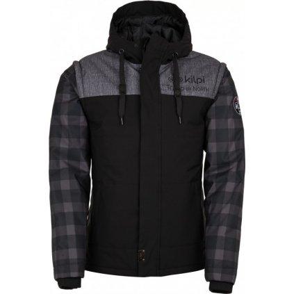 Pánská zimní bunda/vesta KILPI Kiwi-m černá
