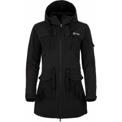 Dámský softshellový kabát KILPI Lasika-w černá