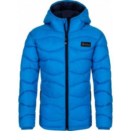 Chlapecká zimní bunda KILPI Rebeki-jb modrá
